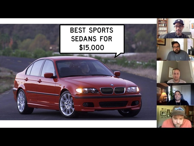 We Find the Best Sports Sedans for $15,000: Window Shop with Car and Driver