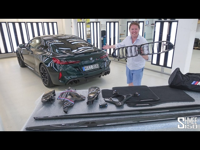 New UPGRADES for the BMW M8! M Performance Parts