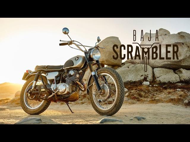 1964 Honda CL72 'Street Scrambler': The Baja Scrambler