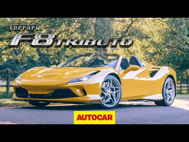 Ferrari F8 Spider Review | new Ferrari Tributo convertible driven | Autocar