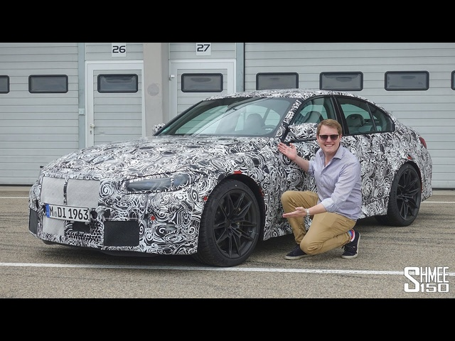 NEW BMW G80 M3! First Drive in the Prototype