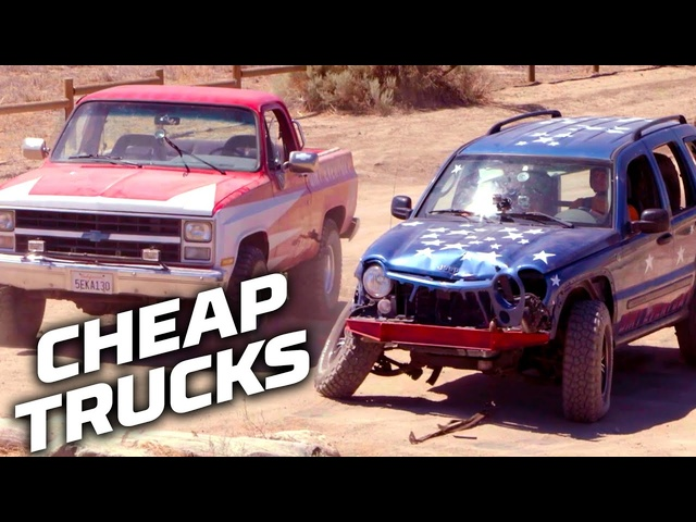 Cheap Truck Challenges for July 4th! | Dirt Every Day | MotorTrend
