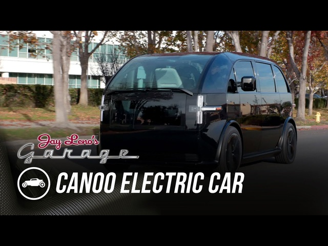 Inside Look At New Car Company Canoo - Jay Leno's Garage