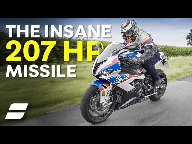 BMW's 207HP Missile: BMW S1000RR M Package Review | 4K