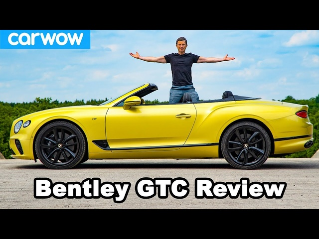<em>Bentley</em> Continental GT Convertible review - see how quick it can go TOPLESS!