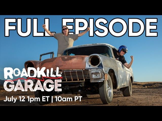 Roadkill Garage FULL EPISODE | Body Swap, Street Dragging '56 Chevy!
