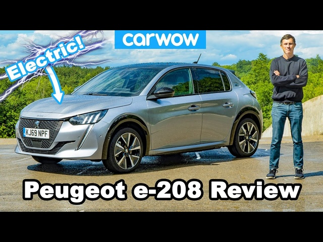 Peugeot e-208 review - the BEST electric car for under £30k!