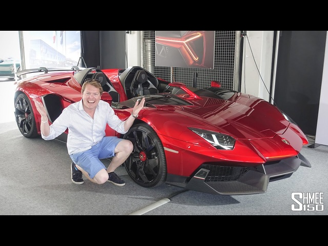 Hypercar Insanity has RETURNED! Found the Exclusive Lamborghini Aventador J