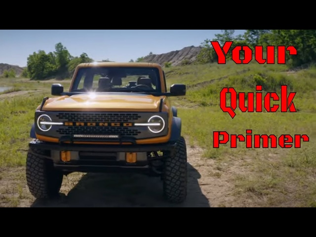2021 Ford Bronco | Jeep's Got A New Enemy