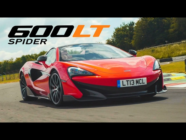 McLaren 600LT Spider Review: Fast And Full Of Feel | Carfection 4K