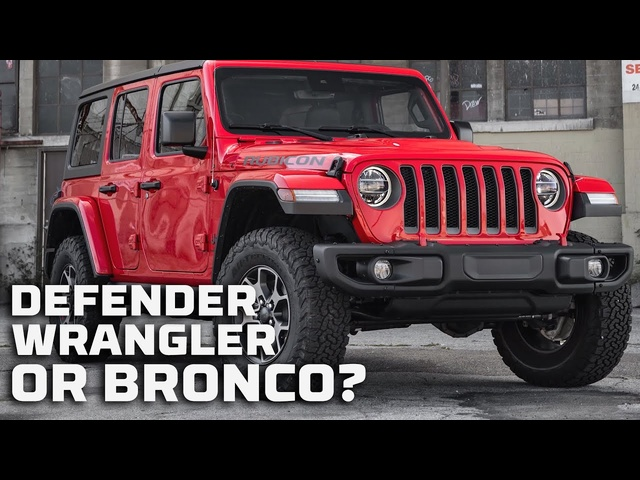 The Breakdown: Can the New Defender and Bronco Beat the Jeep Wrangler at Its Own Game? | MotorTrend