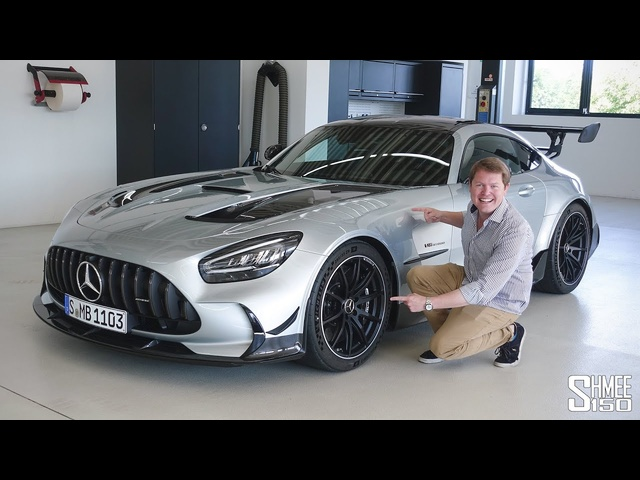 Check Out the New AMG GT BLACK SERIES! | FIRST LOOK