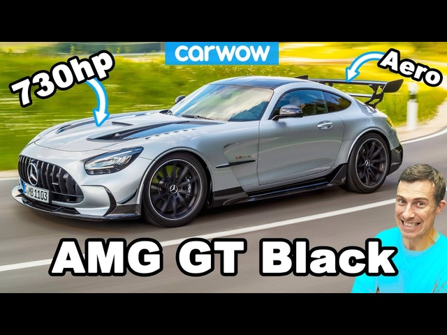New AMG GT Black Series - the most powerful Mercedes road car ever!