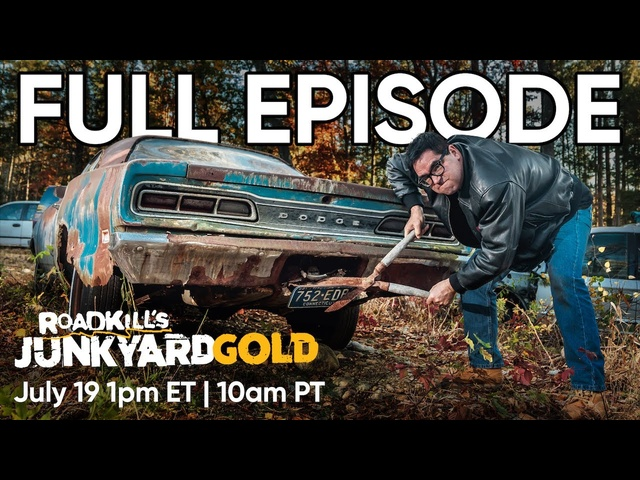 Roadkill's Junkyard Gold FULL EPISODE | Super Bee vs Road Runner: Which Came First? | MotorTrend