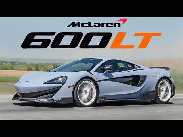 The McLaren 600LT is one of the BEST Supercars