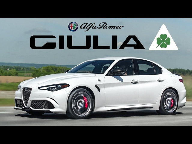 The 2020 Alfa Romeo Giulia Quadrifoglio is the COOLEST Sport Sedan