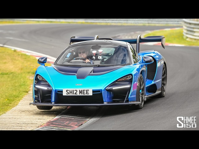 My McLaren Senna FLAT OUT at the Nurburgring!