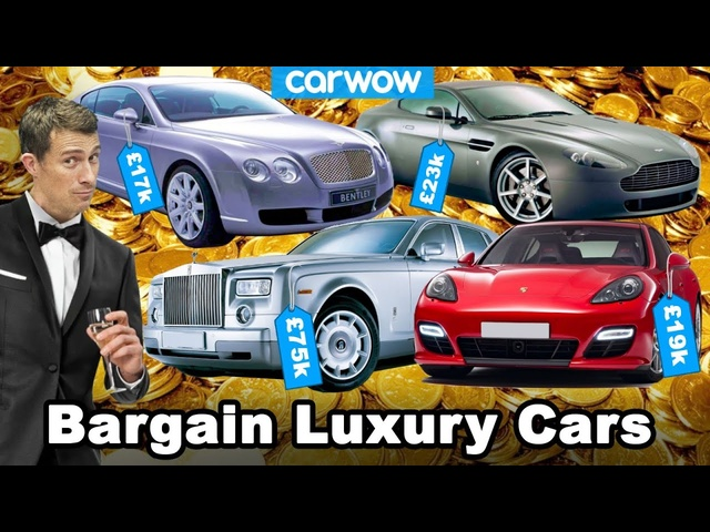 Look RICH on a budget - 15 bargain used luxury cars!