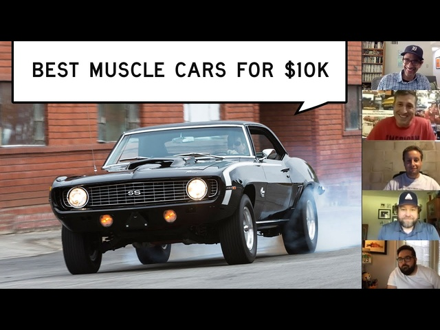 Best Muscle Cars for $10K: Window Shop with Car and Driver