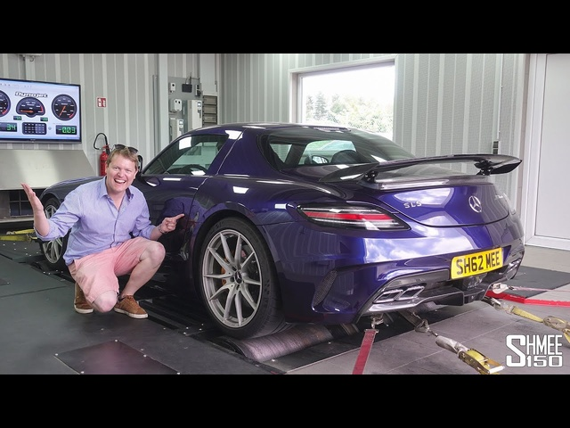 BIG GAINS! My Tuned RENNtech R1 SLS Black Series on the Dyno