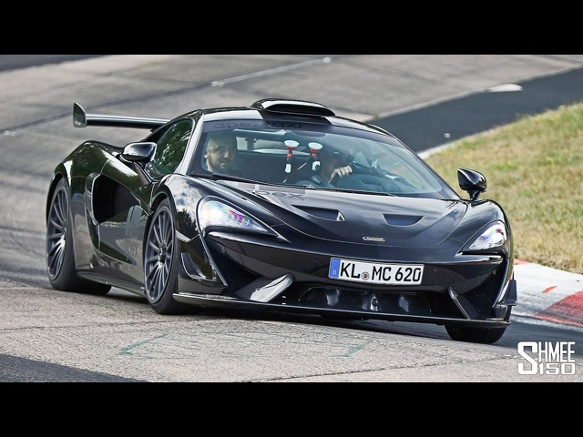 New MCLAREN 620R! My First Drive at the Nurburgring