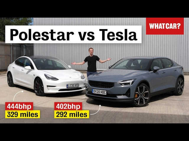 Polestar 2 vs Tesla Model 3 review – which electric car is better? | What Car?