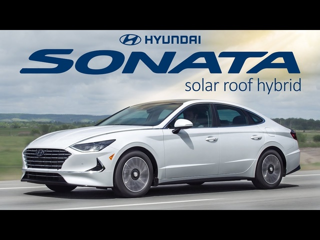 SOLAR Power Car - 2020 Hyundai Sonata Hybrid