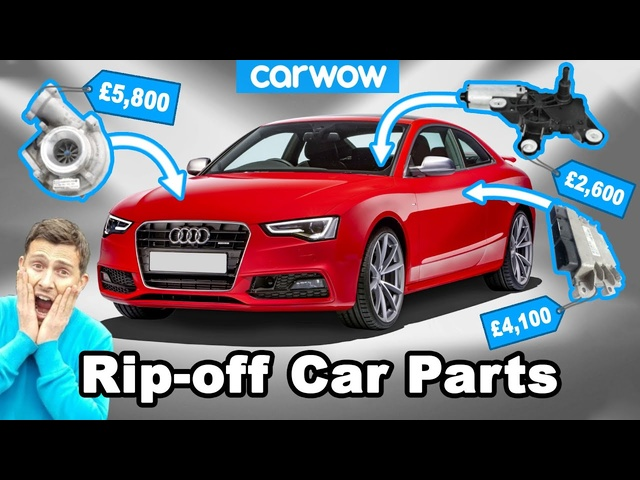 You won't believe how much these replacement parts cost on supposedly affordable cars!