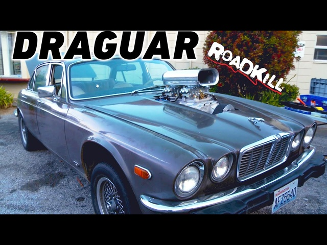 The 'Draguar' is Born! Supercharged '74 <em>Jaguar</em> XJ12 | Roadkill | MotorTrend