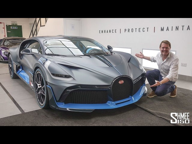 The FIRST Customer BUGATTI DIVO! Exclusive Access