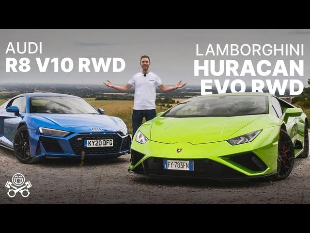 Lamborghini Huracan Evo RWD meets Audi R8 RWD | PistonHeads