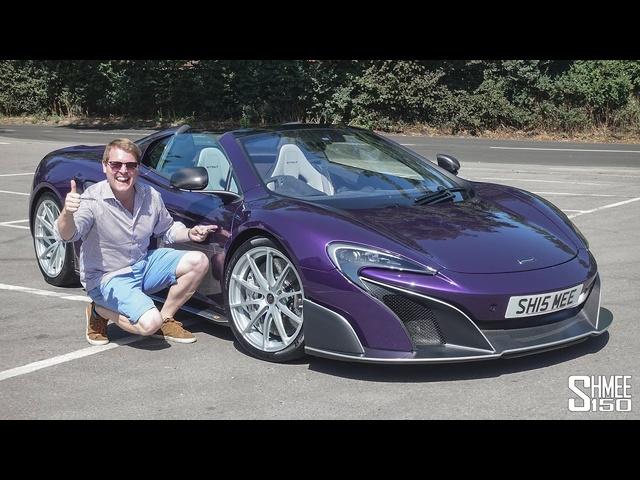 'FIRST DRIVE' in My <em>McLaren</em> 675LT Spider!