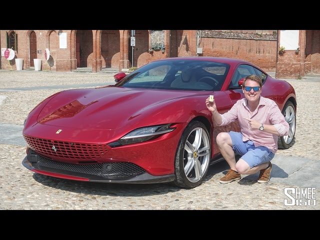 New <em>FERRARI</em> ROMA! My First Drive in the Best Grand Tourer