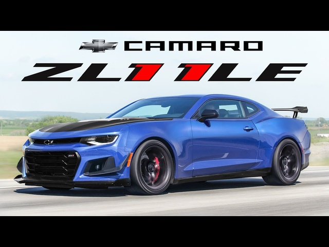 The 2020 Chevy Camaro ZL1 1LE is a Street Legal Track Weapon