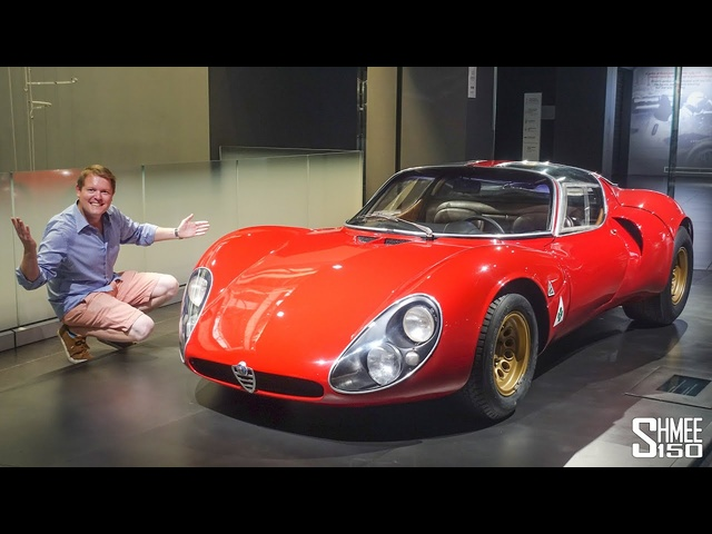 THESE are the RAREST Alfa Romeos in the World! $15m 33 Stradale