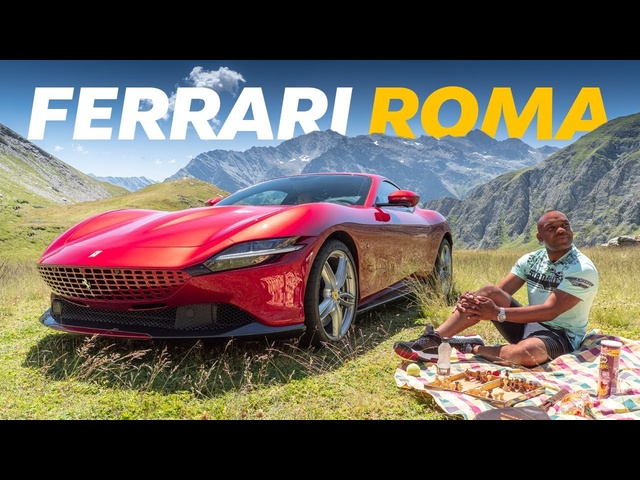 NEW Ferrari Roma Review: The ULTIMATE Posh Daily? | 4K