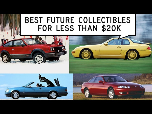 We Find Future Collectibles for Less Than $20,000: Window Shop with Car and Driver