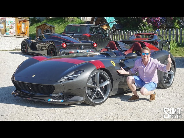 My Dream First Drive in the FERRARI MONZA SP2!