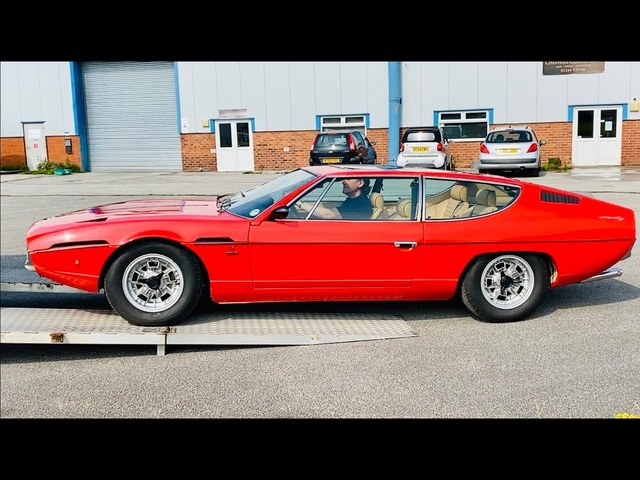 Collecting my rebuilt Lamborghini Espada from Iain Tyrrell's Workshop. Part 7.