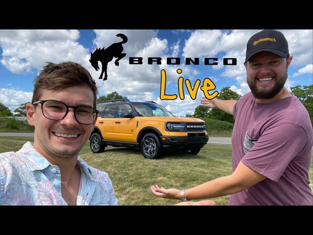 Live with the NEW FORD BRONCO sport