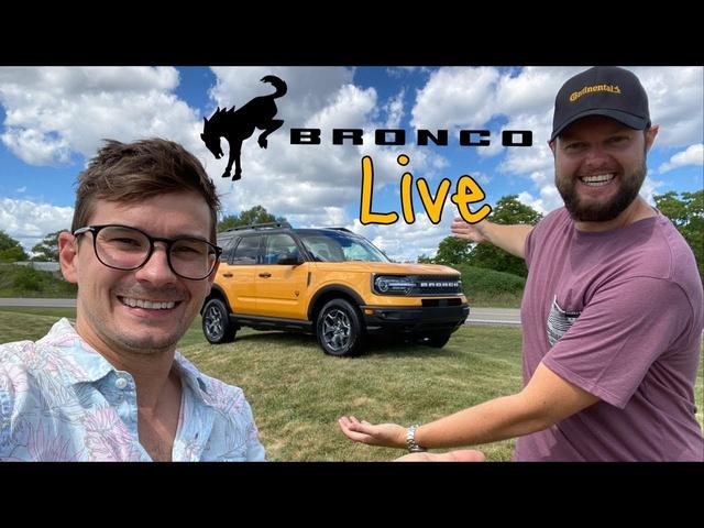 Live with the NEW <em>FORD</em> BRONCO sport