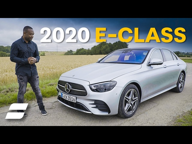 2020 Mercedes E-Class Review: It's UBER Luxurious | 4K
