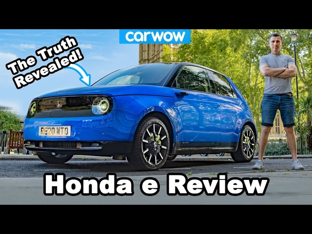 Honda e real-world REVIEW - with 10 London landmarks CHALLENGE!