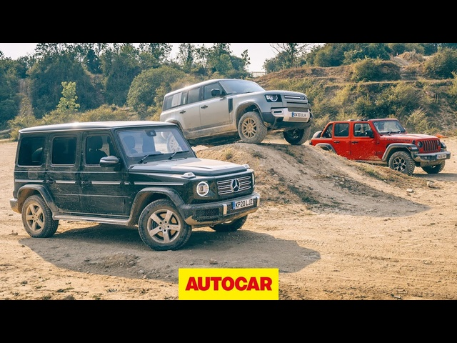 New Land Rover Defender meets Jeep Wrangler and Mercedes-Benz G-Class off-road | Autocar