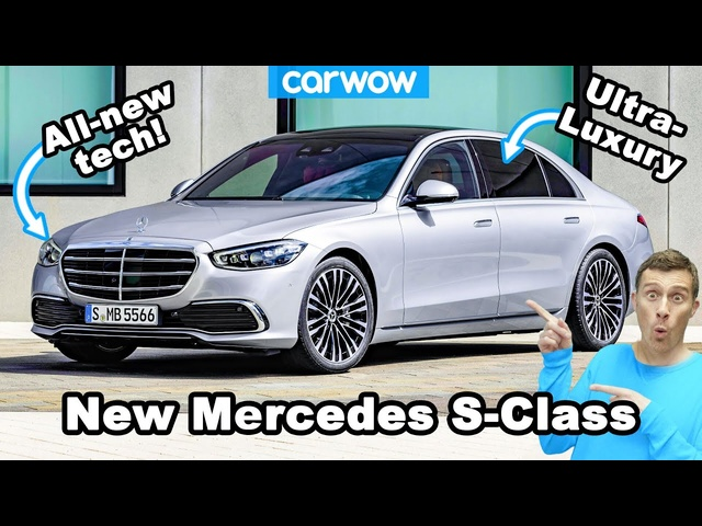 New Mercedes S-Class - see why it's their most luxurious car ever!