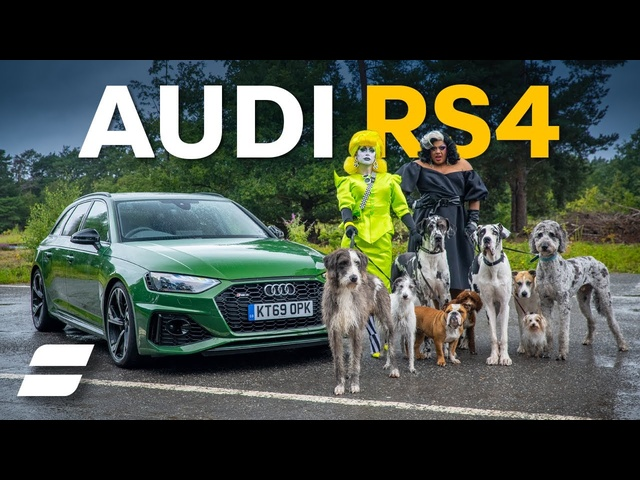 Audi RS4 'Real World' Test | ft. Drag Queens, Drifting and Dogs!