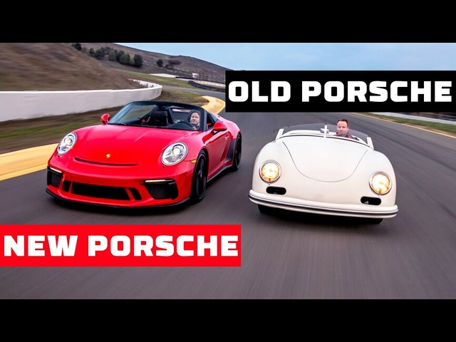 Porsche 356 America Roadster vs 2019 Porsche Speedster—Old vs New! | MotorTrend