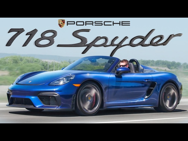 This Porsche has one HUGE Flaw - 2020 Porsche 718 Boxster Spyder Review