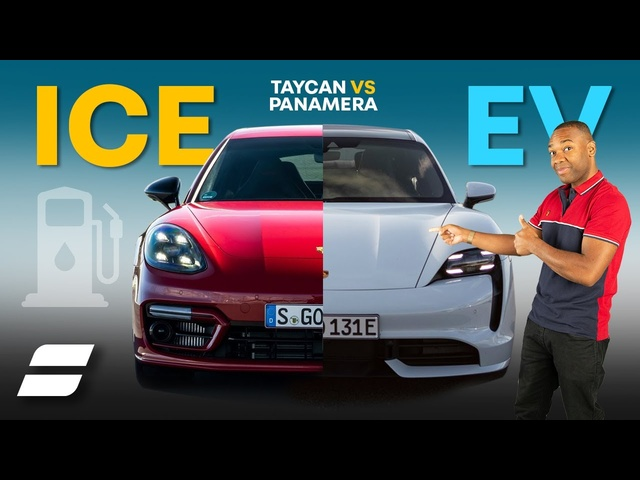 Why The Electric Porsche Taycan Is CHEAPER Than The Panamera