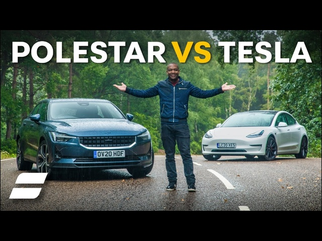 Polestar 2 Vs <em>Tesla</em> Model 3: Electric Car SHOWDOWN | 4K